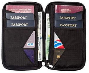 Meilleur portefeuille passeport pas cher